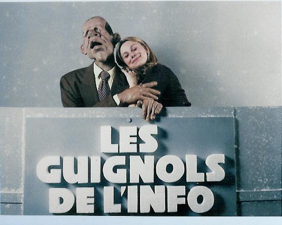 Image 12 ans de voix des Guignols