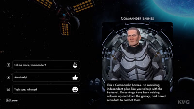 Video Game Sample: Commander Barnes (BlazeSky)