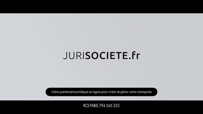 Vidéo Pub tv  Jurisociete.fr - 15s