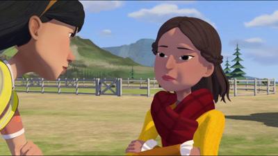 Vidéo Extrait série animée Spirit