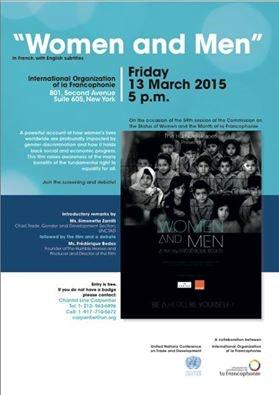 Image Women and men (Film sur lequel j'ai posé la voix)