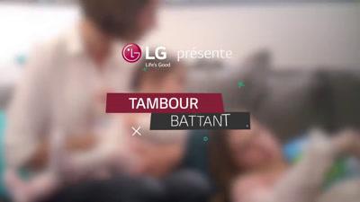 Vidéo lave linge LG