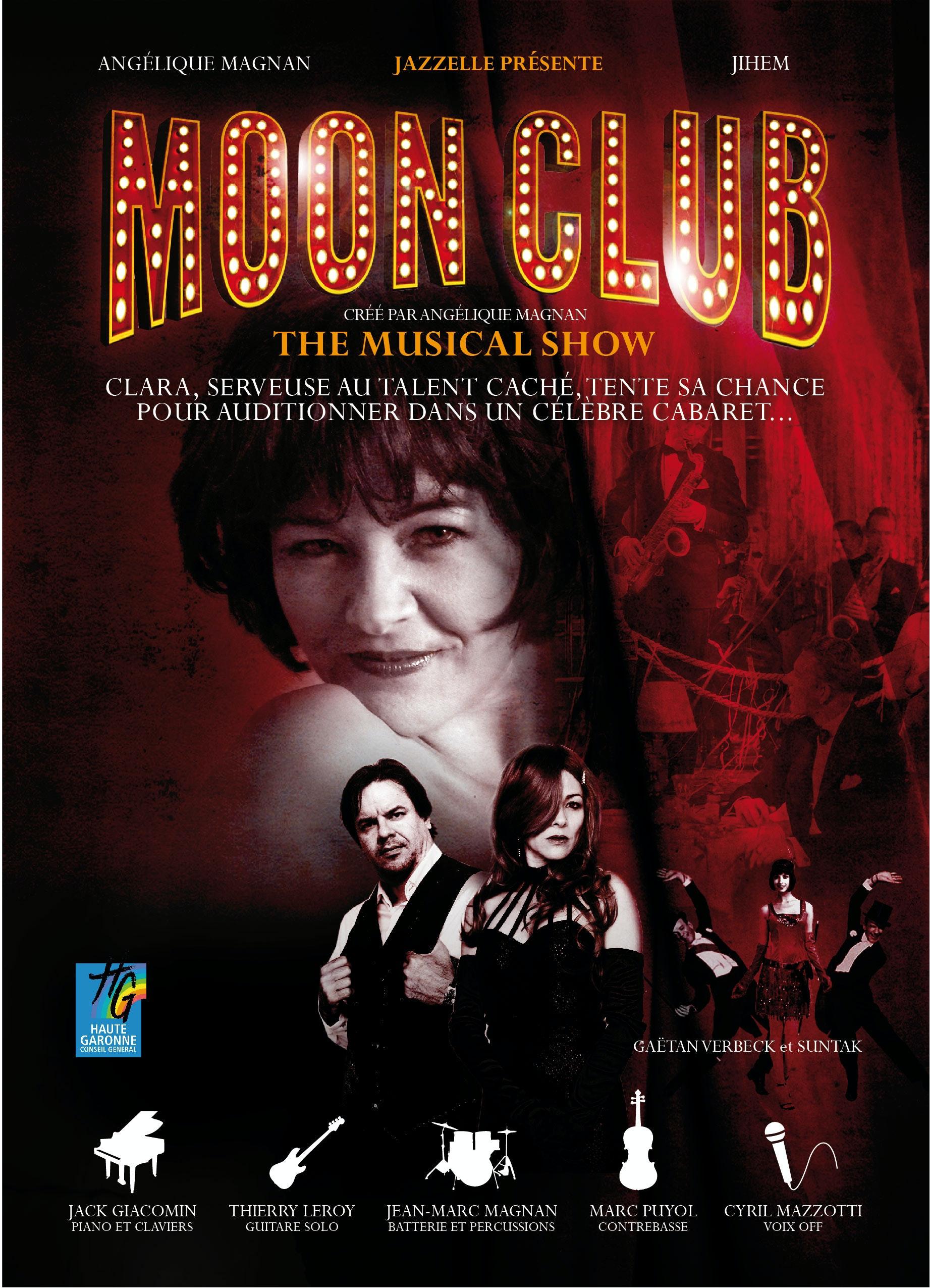 """Image """"Moon club"""" Comédie musicale (Auteur du livret/Compositeur/ Co-metteur en scène)"""