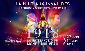 Image LA NAISSANCE D'UN NOUVEAU MONDE (nouvelle Nuit aux Invalides)
