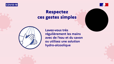 Vidéo COVID19 Officiel Santé Public France