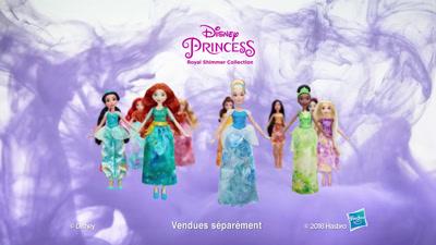 Vidéo Pub TV princesses étoiles