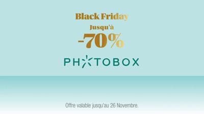 Vidéo Publicité Photobox - Avant-première Black Friday 2020
