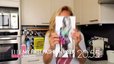 Vidéo MY FIRST FASHION WEEK pour ELLE Girl TV