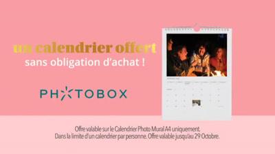 Vidéo Photobox Publicité Octobre 2020