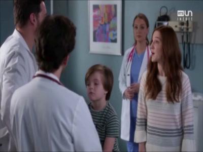 Vidéo  Doublage Grey's Anatomy - Olivia : mère / patiente
