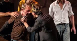 Image Richard 2 de Shakespeare. Mise en scène Eudaimonia