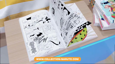 Vidéo NARUTO Hachette Collections