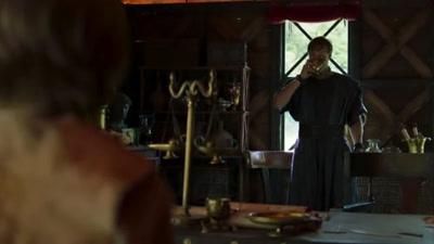 """Vidéo Je double Inis le petit garçon dans """"Britannia"""""""