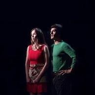 Image Morgane Helie et  Simon Copin - Cie Le pavillon 33 (La pluie d'été Marguerite Duras)