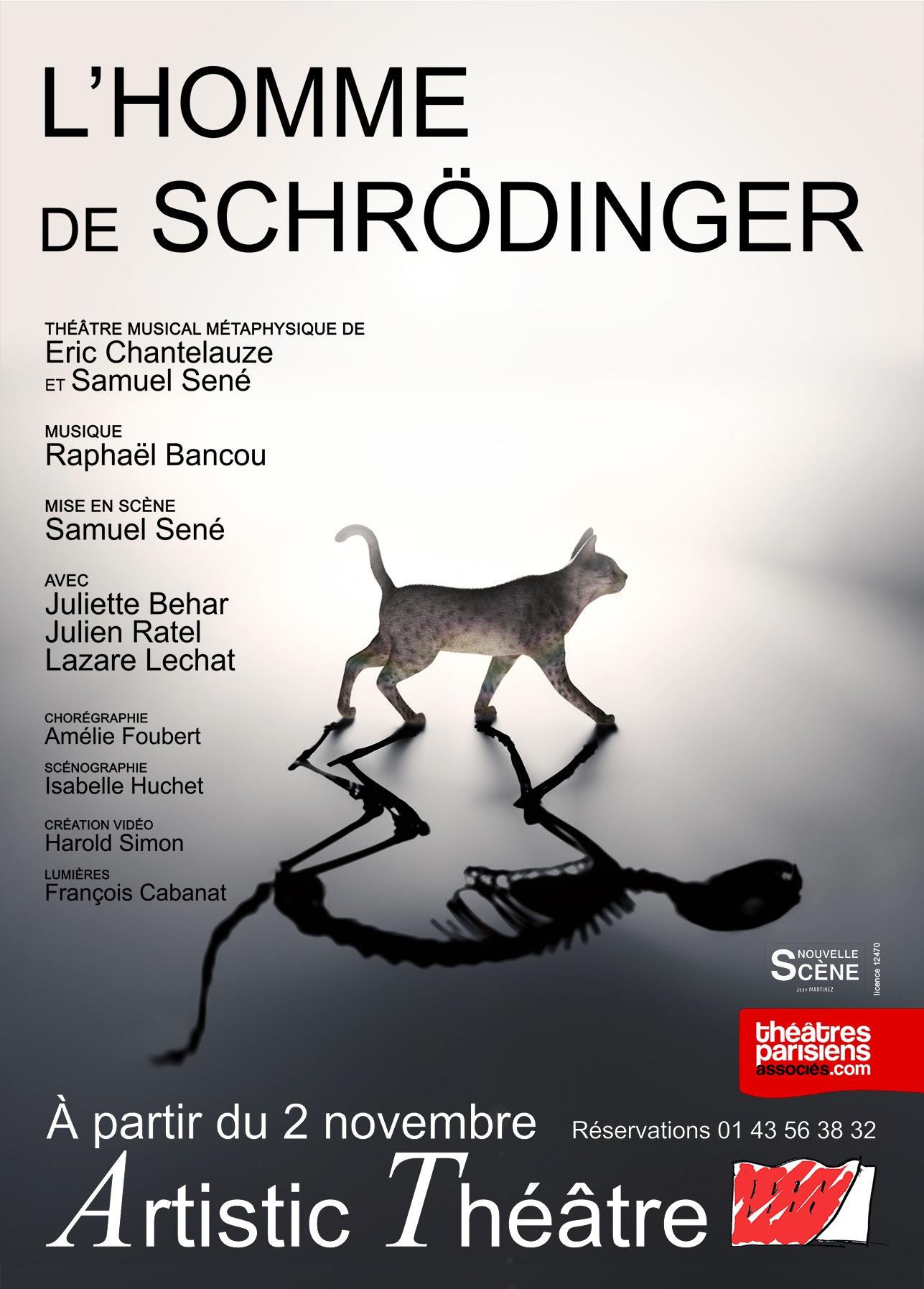 Image L'HOMME DE SCHRÖDINGER