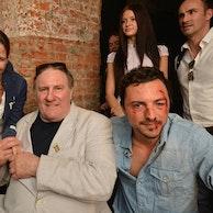 """Image Tournage de """"Viktor"""". Je joue le fils du role principal interprète par Gerard Depardieu"""