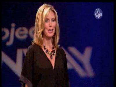 Vidéo Heidi Klum Projet Haute-Couture