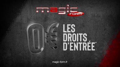 Vidéo MAGIC FORM 15s PROMO