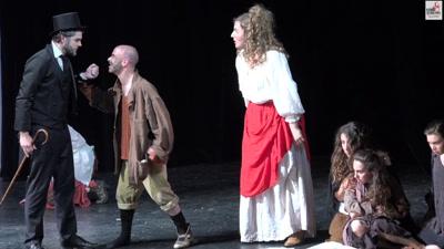 Vidéo Les Misérables - Démo Théâtre