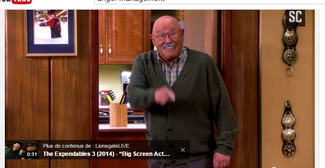 Image Barry Corbin. anger Management Doublage