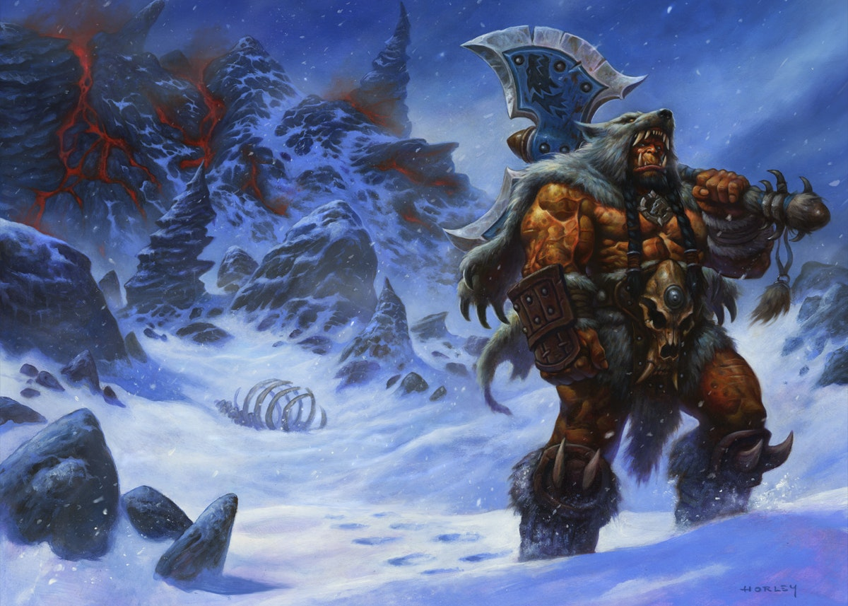 Image Durotan — World of Warcraft : Warlords of Draenor