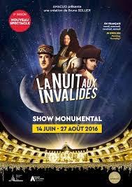 """Image SPECTACLE MONUMENTAL EN 3D Voix de """"La mémoire de la France"""" auprès de J. Piat, A. Dussolier, J. Roerick  ( 2012/13/14/15/16)"""