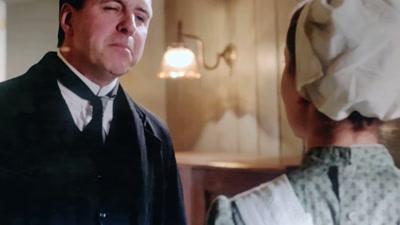 Vidéo Extrait doublage Downton Abbey - Molesley & Anna