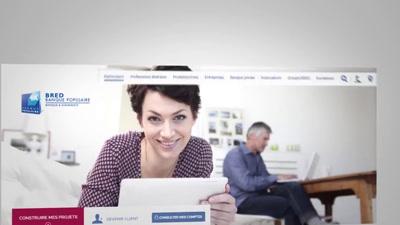 Vidéo BRED Le nouveau site bred.fr