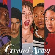 "Image Série Netflix ""Grand army"", j'y double ""Anna"""