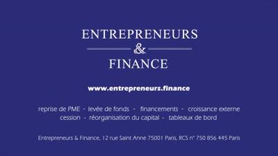 Vidéo BFM I Entrepreneurs & Finance