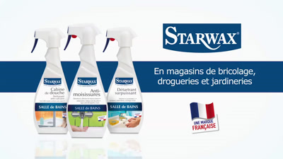 Vidéo Starwax salle de bains