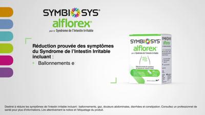 Vidéo SYMBIOSYS® ALFLOREX® POUR LE SYNDROME DE L'INTESTIN IRRITABLE SII  (30s)