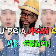 """Image """"You're A Mean One, Mr Grinch"""" Video Cover"""